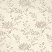 Moda French General Favorites - Bolt 4980 - Beige Floral on Pearl (Cream) - Moda No. 13527 14 - Cotton Fabric